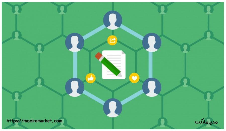 ارتباط محتوای سبز و کلمه کلیدی هدف